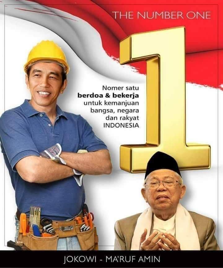 Kumpulan Meme Gambar Jokowi Amin No 01 Pilpress 2019  Website Grosir Kuota \u0026 Pulsa