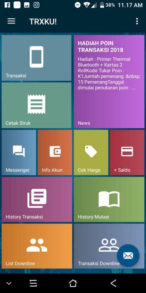 Cara Login Aplikasi Android TRXKU MAXsi Reload