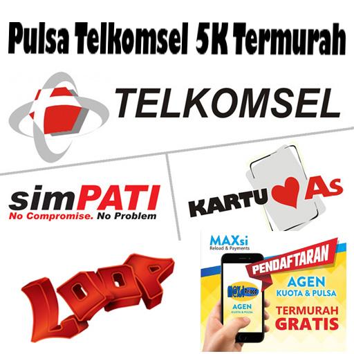 Pulsa Telkomsel 5K Termurah