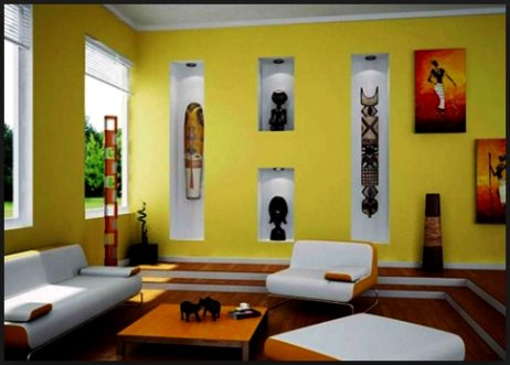 Kumpulan Gambar Paduan Warna Cat Tembok Ruang Tamu - MAXsi.id