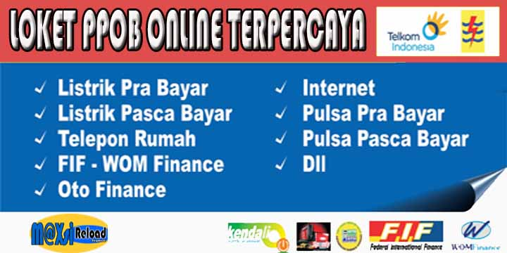 Loket PPOB Online Terpercaya