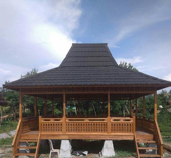 rumah kayu gazebo
