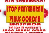 waspada virus corona banner