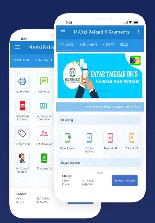 Fitur Server Pulsa dengan Aplikasi Android